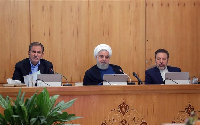 روحانی: نباید اجازه دهیم اتهام پولشویی به سیستم بانکی ما بچسبد