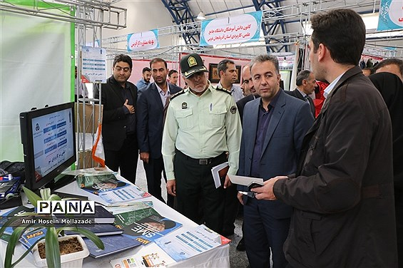افتتاح  پنجمین نمایشگاه اشتغال و توسعه کارآفرینی در ارومیه