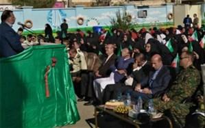 صبحگاه مشترک دانش آموزی به مناسبت هفته نیروی انتظامی