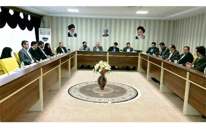 نهمین جلسه ی شورای معاونین آموزش و پرورش استان