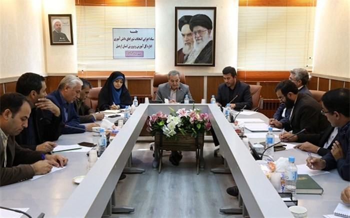 جلسه ستاد انتخابات بیست و دومین شورای دانش آموزی اردبیل