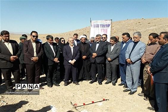 کلنگ آغاز عملیات اجرایی بند خاکی روستای حاجی آباد مود شهرستان سربیشه