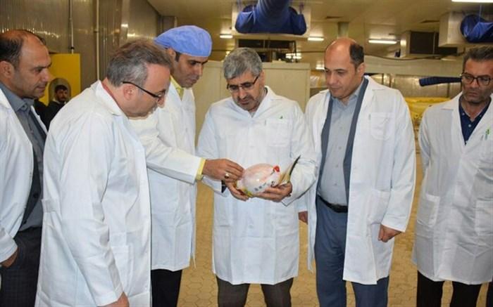 آئین بهره برداری و شروع رسمی تولید و عرضه گوشت مرغ رتبه A در کشتارگاه صنعتی آرتا پروتئین اردبیل