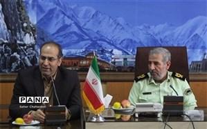 دیدار مدیرکل آموزش و پرورش همدان با فرمانده انتظامی استان