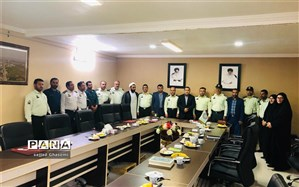 نشست صمیمی نیروی انتظامی با شورای اسلامی