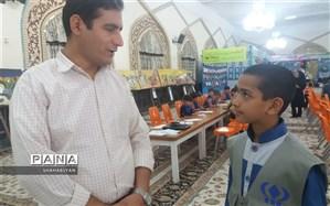 بازدید خبرنگاران منتخب پانا کاشمر از نمایشگاه کودک