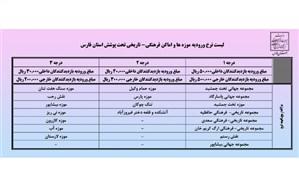 افزایش قیمت در تعرفه ورودیه اماکن فرهنگی- تاریخی استان فارس