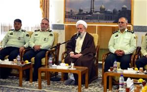 دیدار تولیت آستان مقدس حضرت عبدالعظیم حسنی (ع)با جمعی از پرسنل نیروی انتظامی