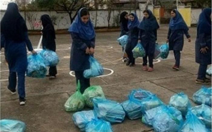 کاغذهای باطله سنگ بنای ۲ مدرسه در تالش شد