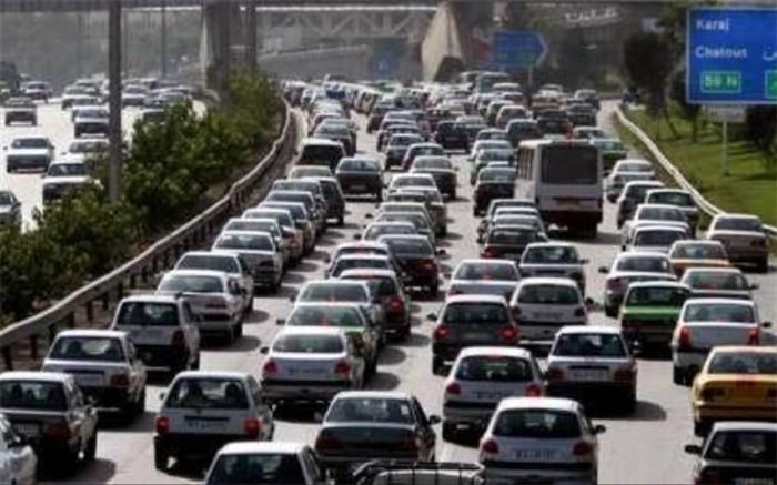 انسداد آزاد راه کرج قزوین