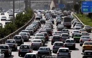انسداد مقطعی آزاد راه کرج - قزوین به منظور جابجایی و انتقال خط برق به قطار شهری کرج هشتگرد