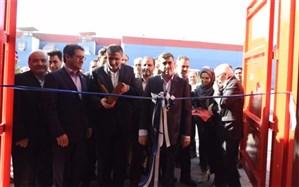 با حضور وزیر راه و شهرسازی بزرگترین خط تولید کانتینر دریایی ایران در البرز افتتاح شد