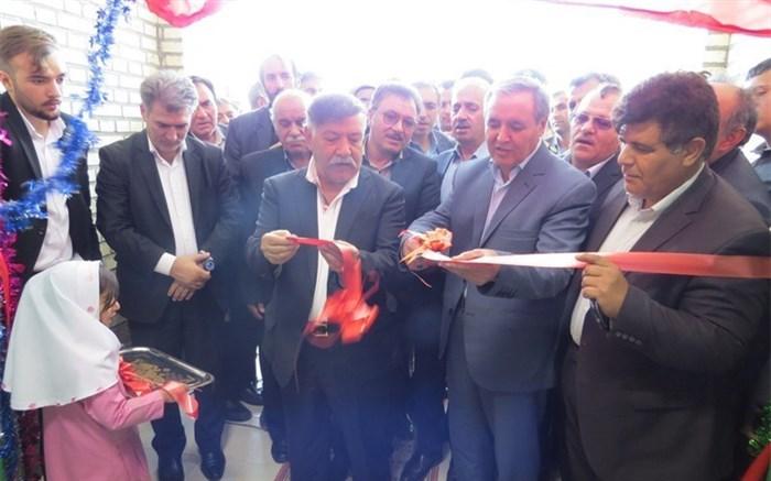 افتتاح مدرسه خیری سه کلاسه در روستای ایران آباد شهرستان پارس آباد