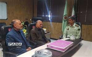 دیدار مدیر منطقه۹ با سرهنگ مالمیر به مناسبت هفته نیروی انتظامی