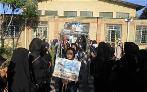 اعزام ۲۸۰دانش آموز دختر ناحیه ۲ اردبیل به مناطق عملیاتی شمالغرب کشور