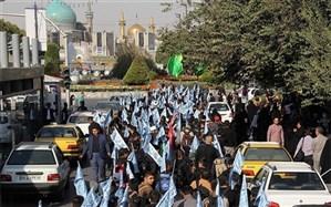 اعزام کاروان 600 نفره دانش آموزان استان جهت راهپیمایی اربعین حسینی به کربلای معلی