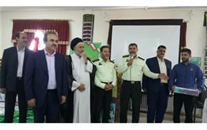 گرامیداشت هفته نیروی انتظامی در دبیرستان وکیلی 10 نیشابور