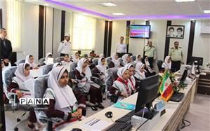 تبریک هفته نیروی انتظامی توسط دانش آموزان پیشتاز