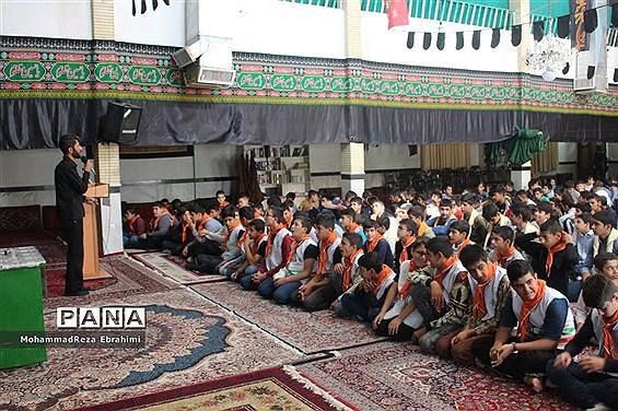 مراسم سوگواری سالار شهیدان در آستانه اربعین حسینی