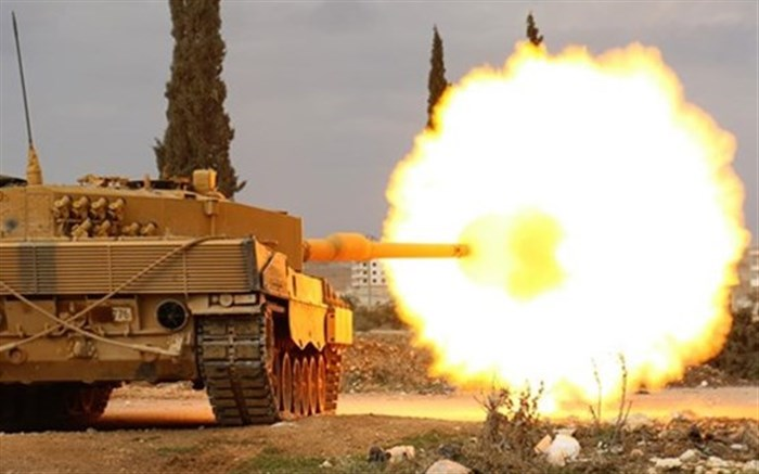 عملیات نظامی ترکیه در سوریه آغاز شد