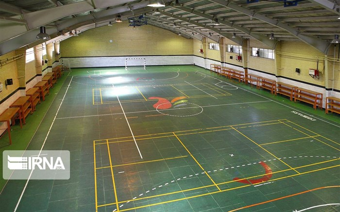 افتتاح سالن ورزشی دانش آموزان