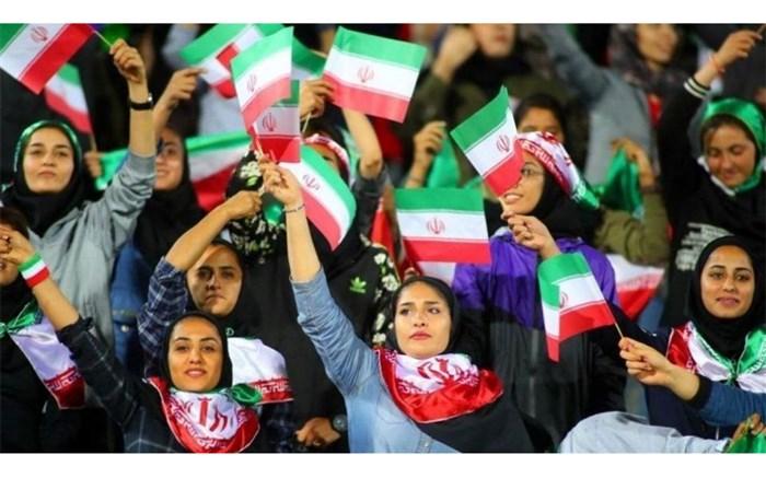 زنان فوتبال استادیوم