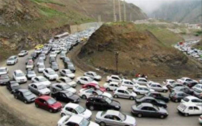ترافیک کرج چالوس