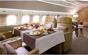 راه اندازی رستوران هواپیمایی در شهر قدس