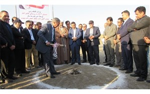 کلنگ احداث مدرسه سه کلاسه در روستای طاهر آباد از توابع شهرستان اصلاندوز به زمین زده شد