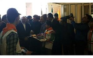 افتتاح مدرسه ۱۲ کلاسه شاهد در پلدختر با حضور وزیر آموزش و پرورش