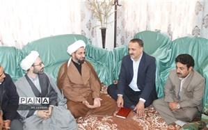 دیدار   مدیر آموزش و پرورش شهرستان کلات با امام جمعه شهر زاوین