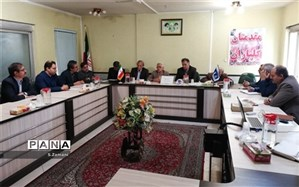 جلسه هماهنگی  برگزاری یکصدمین سال تاسیس آموزش و پرورش اصفهان با محوریت فعالیت های سواد آموزی