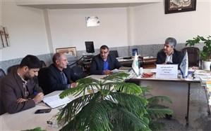 جلسه بهبود کیفیت سوادآموزی شهرستان گلپایگان برگزار شد