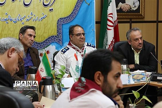 نشست مدیران سازمان دانشآموزی مناطق 19گانه شهر تهران و اداره استثنایی