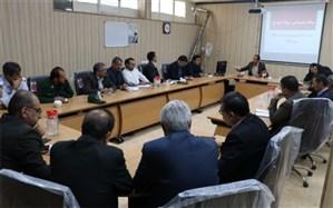 نشست ستاد پشتیبانی سواد آموزی آموزش و پرورش شهرستان دهاقان برگزار شد
