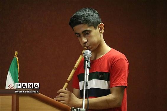 آیین بزرگداشت روز حافظ در سازمان دانشآموزی