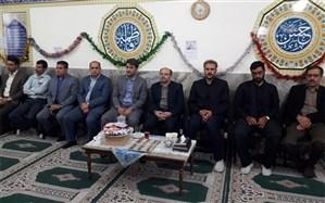 مراسم بزرگداشت شهید حججی در ناحیه یک شهر ری برگزار شد