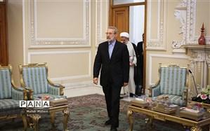لاریجانی: هدف آمریکا به هم ریختن امنیت و آتش زدن منافع ایران است