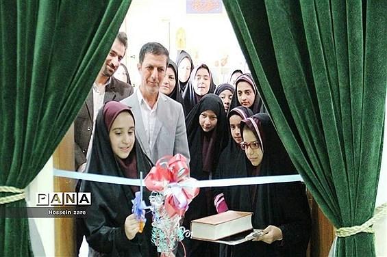 افتتاح نمایشگاه یک فصل لبخند در تفت