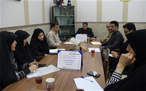 برگزاری جلسه شورای پرورشی و ستاد اقامه نمازآموزش و پرورش ناحیه یک ری