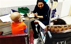 گزارشی از نحوه آموزش به کودکان مبتلا به سرطان
