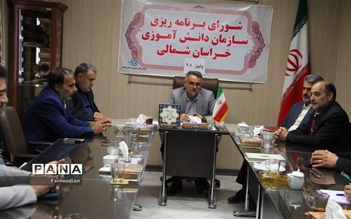 جلسه شورای برنامه ریزی سازمان دانش آموزی استان