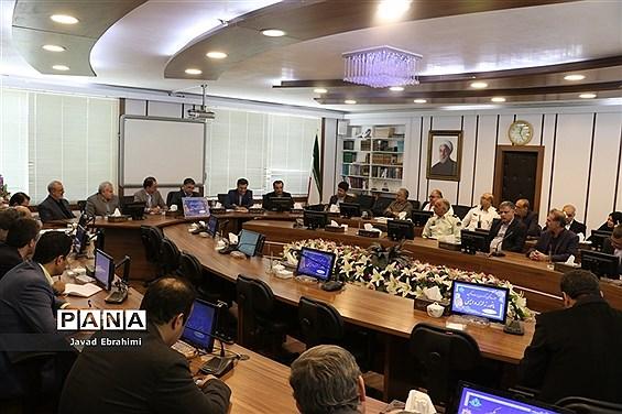 جلسه هماهنگی بیست و یکمین مانور سراسری زلزله در مشهد