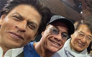 «شاهرخ خان»، «جکی چان» و «ژان کلود ون دم» در ریاض