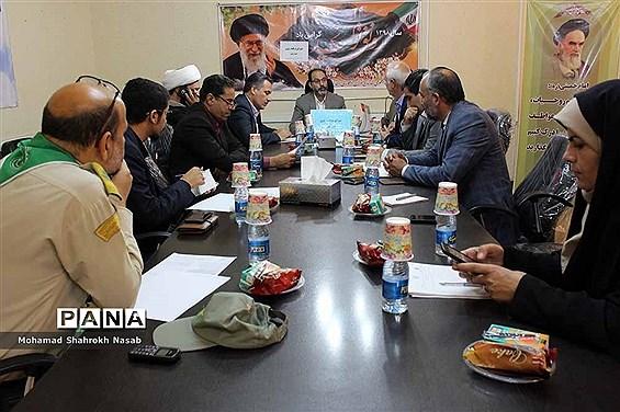 نشست شورای برنامهریزی سازمان دانشآموزی خوزستان
