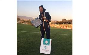 دبیر تبریزی مدال طلای کشوری  مسابقات دو و میدانی را کسب کرد