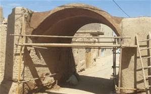 ساباط محله قلعه ی تاریخی میبد مرمت شد