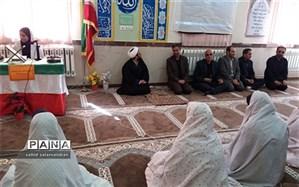 در آئینی نمادین، زنگ نماز در آموزشگاه نمونه دولتی فرزانگان بیجار نواخته شد