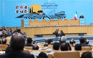 روحانی:  احیای دریاچه ارومیه، 14 میلیون ایرانی را از توفان نمک نجات داد
