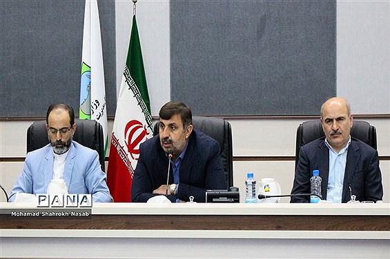 نشست هماهنگی برگزاری بیست و یکمین مانور سراسری زلزله و ایمنی مدارس خوزستان